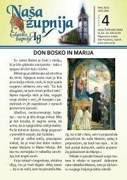 DON BOSKO IN MARIJA - Ig - Salve