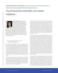 Una Groenlandia sostenible y los ideales indígenas - Earth Charter ...