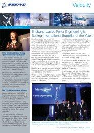 May 2012 - Boeing Australia