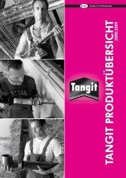 Tangit® Gesamt Produktübersicht 2008/2009 DE - Walraven