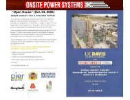 pictures - Onsite Power Systems