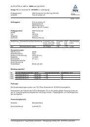 GUTACHTEN zur ABE Nr. 45609 nach §22 StVZO Anlage 18 zum ...