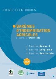 barème « support » 2009 - RTE