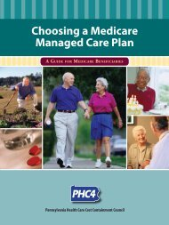 Choosing a Medicare Managed Care Plan - Pennsylvania Health ...