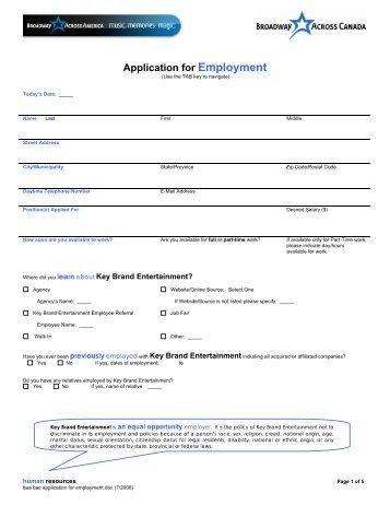 Teen Usher Application - Hennepin Theatre Trust