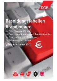 Brandenburg ab Januar 2012 - Das RentenPlus
