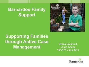 Supporting Families through Active Case Management