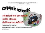 relazioni ed emozioni nella classe dell'alunno ADHD - Aidai