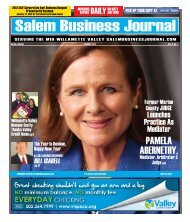Jan 2012 - Salem Business Journal