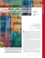 México y China: competencia en el mercado de Estados Unidos