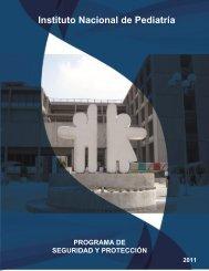 Programa de Seguridad y Protección - Instituto Nacional de Pediatría