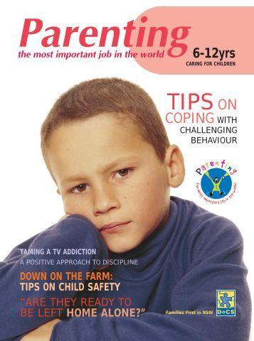 Parenting - caring for children 6-12 magazine - Nabuur