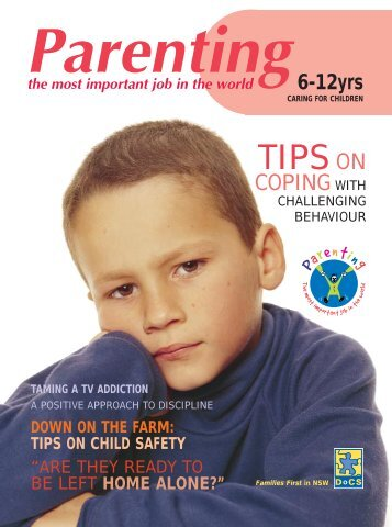 Parenting - caring for children 6-12 magazine - Nabuur