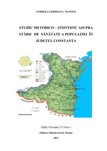 studiu metodico – ştiinţific asupra stării de sănătate a populaţiei în ...