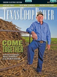 Texas Co-op Power • May 2012 - CoServ.com