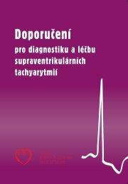 Doporučení pro diagnostiku a léčbu supraventrikulárních tachyarytmií
