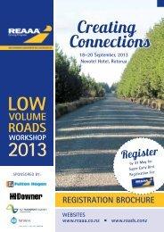 REGISTRATION BROCHURE (pdf) - roads.co.nz