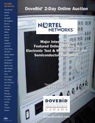 DoveBid® 2-Day Online Auction