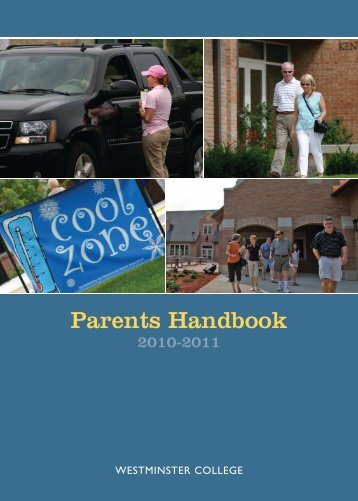 Parents Handbook - Westminster College