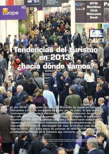 Tendencias del turismo en 2013: ¿hacia dónde ... - Hosteltur.com