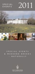 SPECIAL EVENTS - Beales Hotels