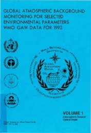 VOLUME 1 - E-Library - WMO