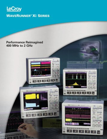 View LeCroy WAVERUNNER 44XI Specifications - TekNet Electronics