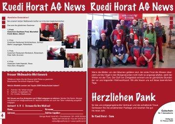 Gutschein - Ruedi Horat AG