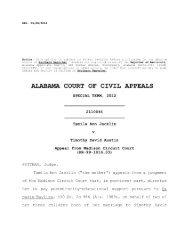 Jacklin v. Austin - Alabama Appellate Watch