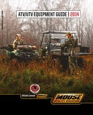 ATV/UTV EQUIPMENT GUIDE | 2014