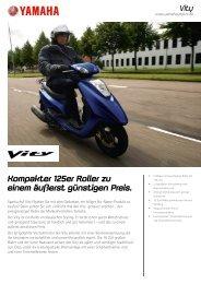 Kompakter 125er Roller zu einem äußerst günstigen Preis.