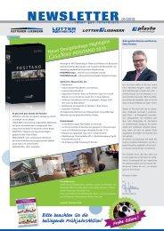 Ausgabe 01/2013 - Plasto Bodenbeläge
