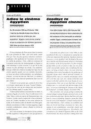 Paris : Ima : Adieu le cinéma égyptien / Goodbye to ... - Africultures