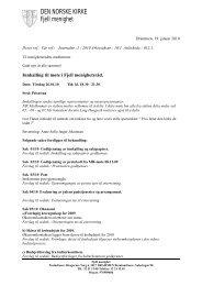 1 - Innkalling til menighetsrådsmøte 26 01 10 - Drammen Kirker ...