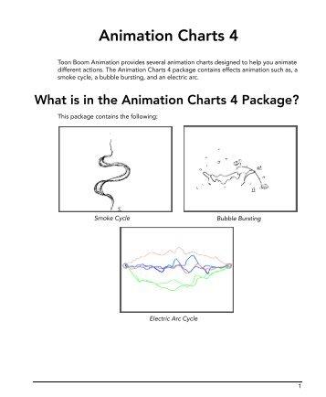 Animation Charts 4 - Toon Boom Animation