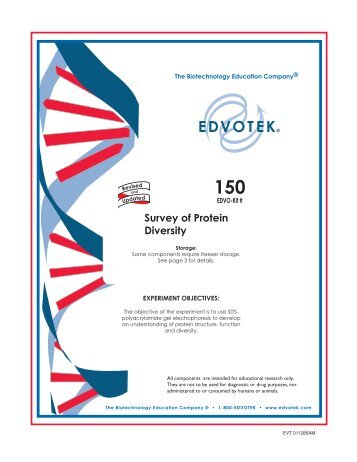 Survey of Protein Diversity - Frederiksen