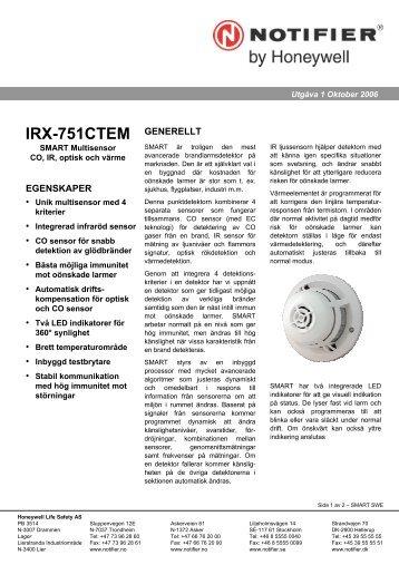 IRX-751CTEM - Notifier