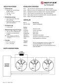IRX-751CTEM - Notifier - Page 2