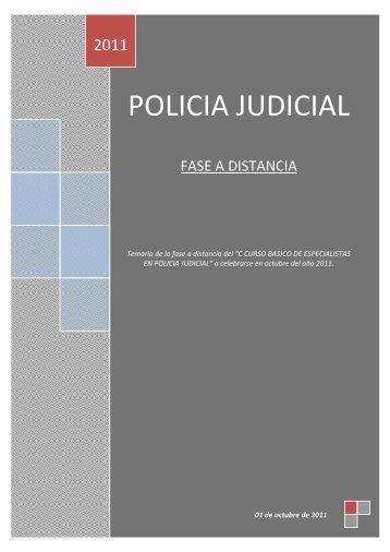 POLICIA JUDICIAL