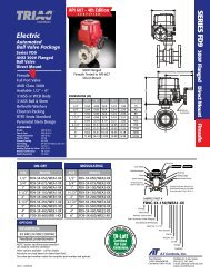 Series FD9-F3 ANSI 300 Ball Valve with Electric ... - RM Headlee