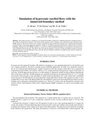 Slip-flow model for the simulation of rarefied flows with the immersed ...