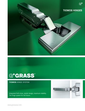 TIOMOS HINGES - Grass America, Inc.
