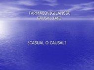 valoración de la causalidad con caso - eVirtual UASLP