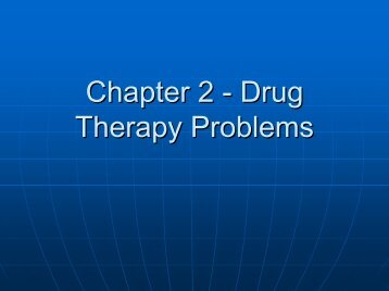 IPPE 4 - Drug Therapy Problems