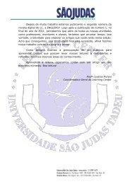 Edition Number 2 - 2º Semestre - Universidade São Judas Tadeu