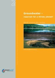 Groundwater - - International Year of Planet Earth