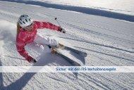 Sicher mit den FIS-Verhaltensregeln - Top on Snow