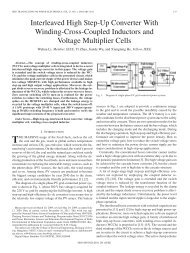 Interleaved High Step-Up Converter With Winding ... - IEEE Xplore