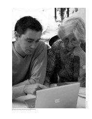 Echange d'espace et de savoir entre générations - Annales de la ...