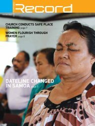 DATELINE CHANGED IN SAMOA page 3 - RECORD.net.au